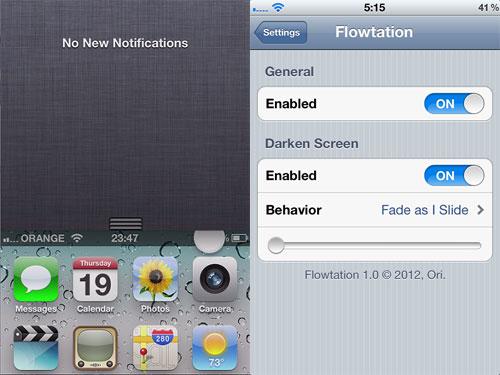 flowtation Cydia : Flowtation passe en version 1.2.1 [CRACK]