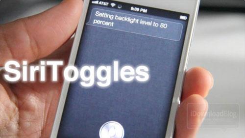 siritoggle SiriToggles ajoute des fonctionnalités à Siri