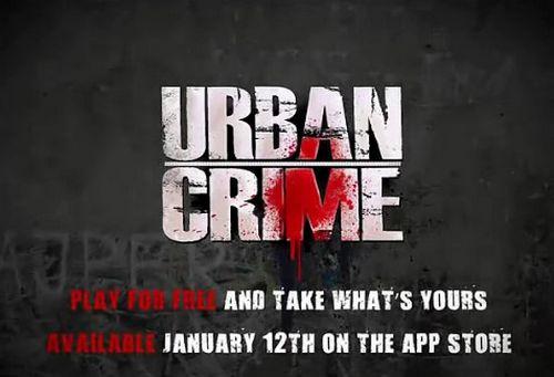 urban crime Un premier trailer pour Urban Crime de Gameloft