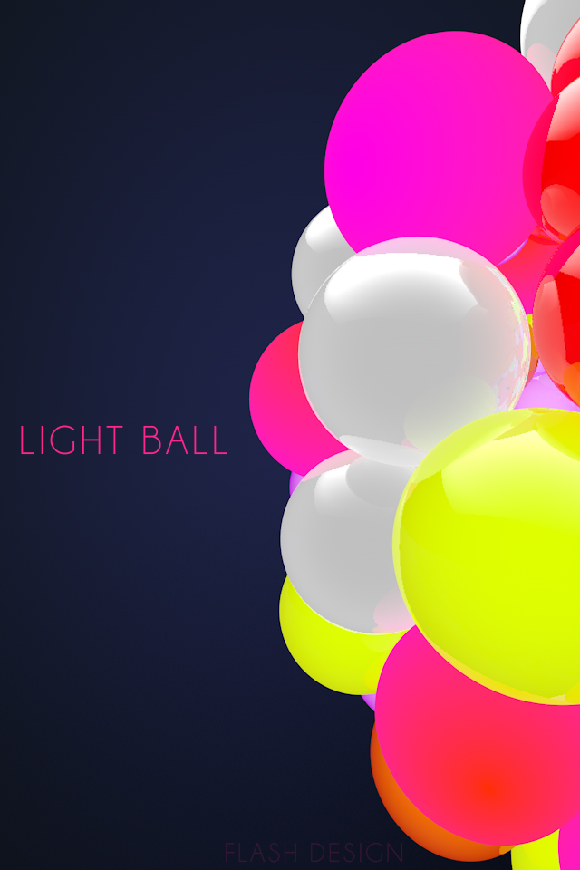 218229LightballByFLASHDESIGNiPh Les 3 Wallpapers iPhone du jour (11/02/12)
