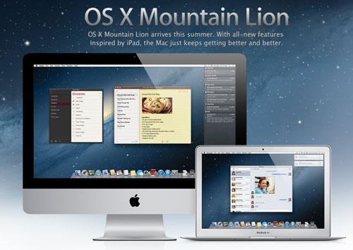 OSX Lion Mountain iph Apple met à jour iWork, Podcasts et iTunes U