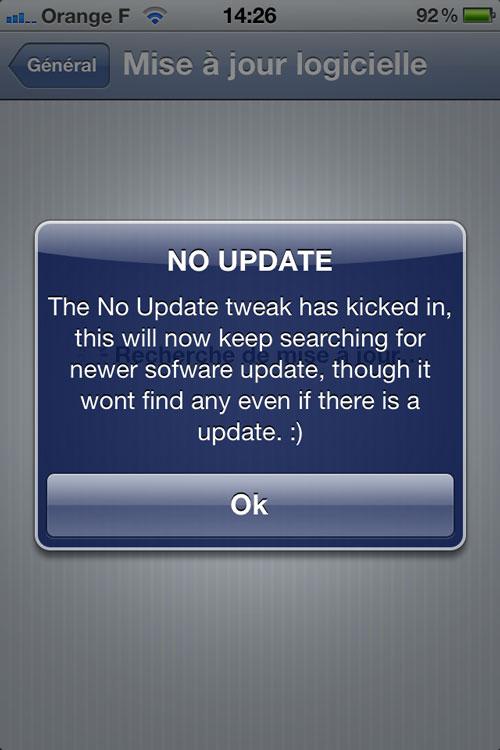 Photo 10 02 12 14 26 102 No Update, bloquer les mises à jours firmware