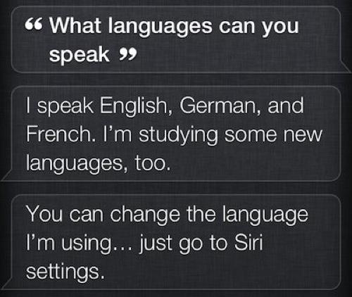 Siri MAJ Siri ne parle plus japonais, enfin pour linstant