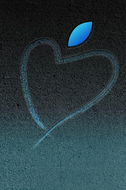 ValentinesDay iPhone3gsystem 500x750 Les 3 Wallpapers iPhone du jour (Saint Valentin)
