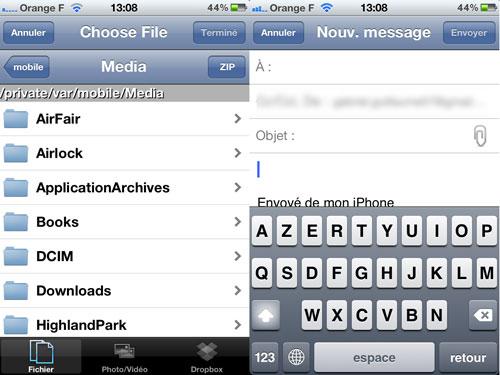Cydia : AnyAttach est désormais compatible iOS 6