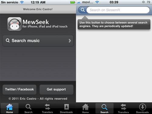 mewseek1 MewSeek disponible pour iOS 5