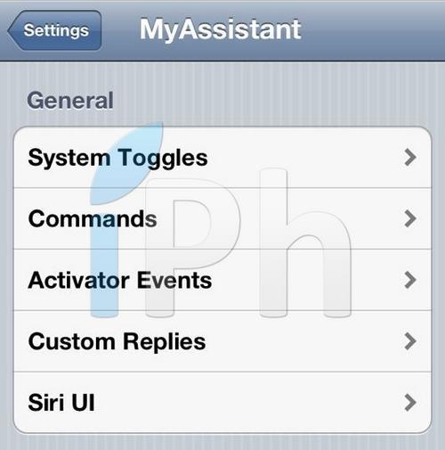 mysiri [CYDIA] Liste des tweaks compatibles iOS 5.1.1