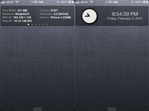 powercenter1 Clock Plugin for PowerCenter Pro : Ajoutez lheure dans le NC