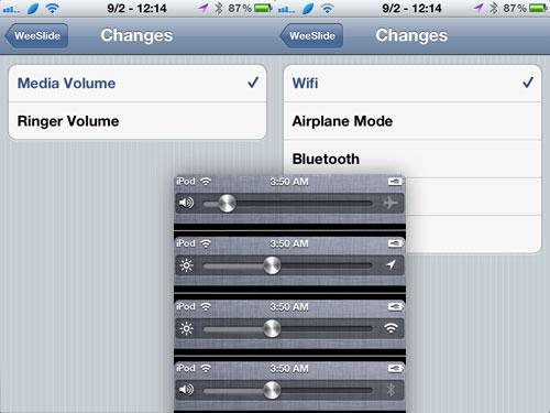 weeslide iph WeeSlide passe en version 1.1.0 2
