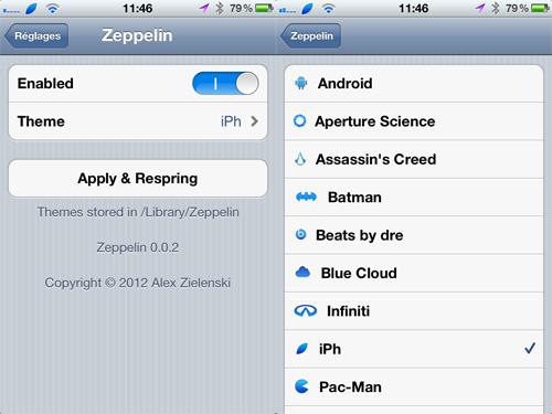 zeppelin iph [CYDIA] Liste des tweaks compatibles iOS 5.1.1