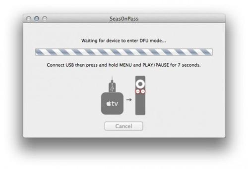 ConnectUSB 570x390 Comment jailbreaker votre Apple TV 2G en 5.0.1 avec Seas0nPass