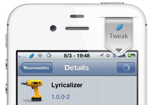 Lyricalizer iph Cydia : Lyricalizer, trouver les paroles de vos chansons [CRACK]
