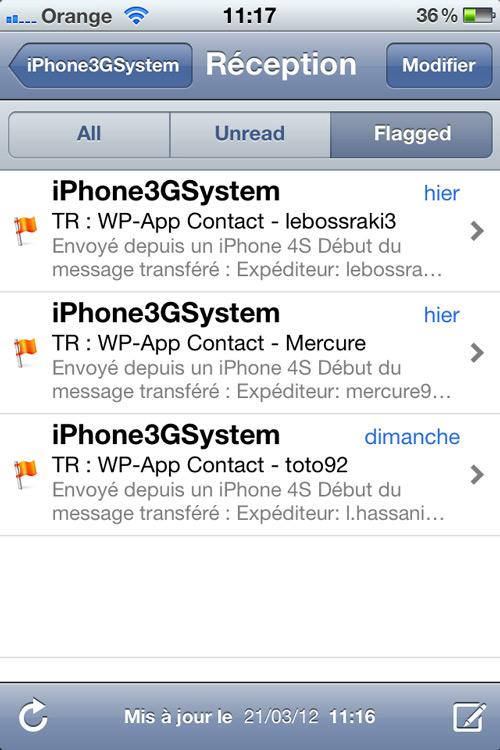 Photo 21 03 12 11 17 22 Cydia : Mail Enhancer Pro passe en version 1.2 3