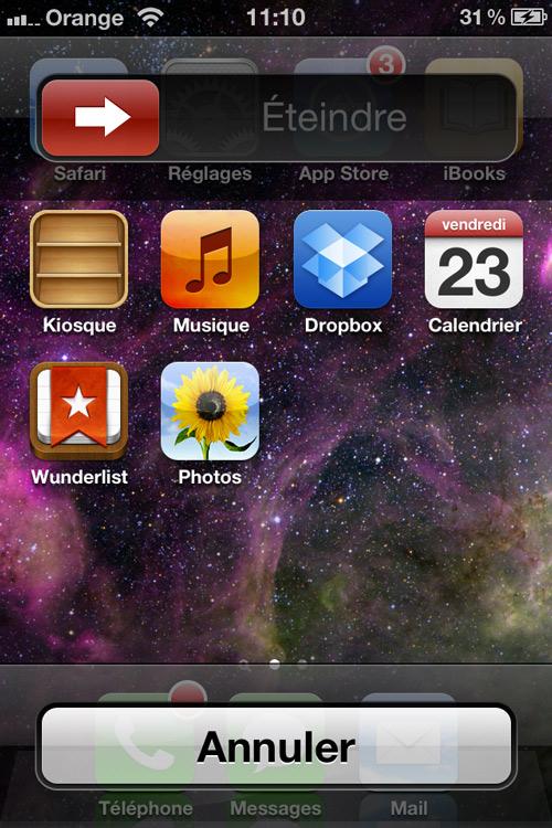 Photo 23 03 12 11 10 29 Le tweak Cydia PowerDown Clear passe en version 5.0