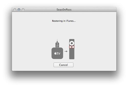 Rrestore Comment jailbreaker votre Apple TV 2G en 5.0.1 avec Seas0nPass