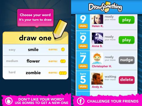 Sans titre 25 Draw Something pour iPhone, dessinez et devinez entre amis