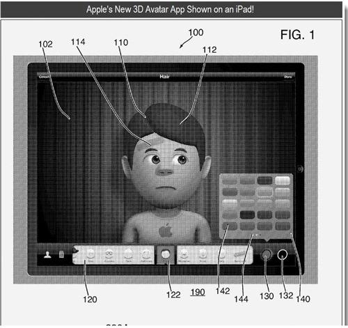 av1 Des avatars 3D pour le GameCenter ?
