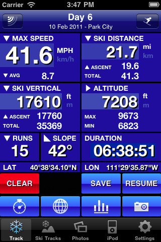 mzl.rpxajbjf.320x480 75 Ski Tracks, enregistrer toutes vos performances en ski avec votre iPhone