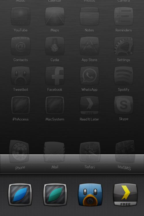 test1 Appswitcher, ajouter 4 icônes en raccourci dans le multitâche