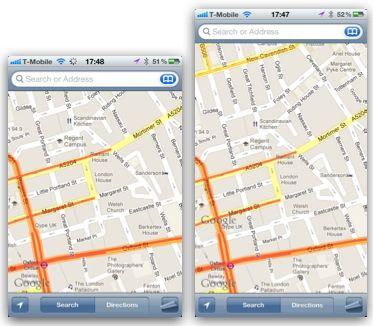 4 iPhone 5 : Le Springboard dun écran de 4 pouces