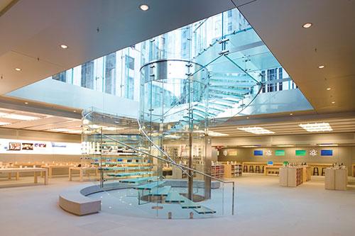Apple Store 17 fois iPh Les Apple Stores font 17 fois plus de ventes que les détaillants