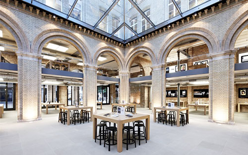Apple Store coventgarden london olympics iPh1 Les Apple Stores de Londres se préparent pour les JO