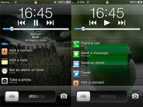 FastLock Tweak Cydia iPh1 Cydia : FastLock, les applications indispensables sur le LockScreen [CRACK]