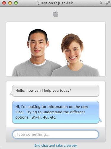 apple online store chat iPh Dialoguez en direct avec un spécialiste sur le site Apple