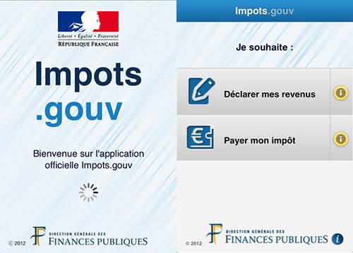 impots gouv app iPh Lapplication Impots.gouv pour déclarer vos impôts est disponible