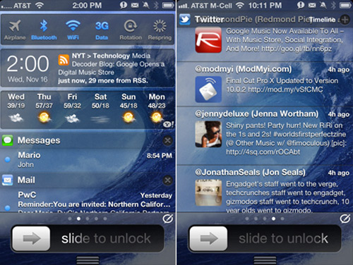 intelli [CYDIA] Liste des tweaks compatibles iOS 5.1.1
