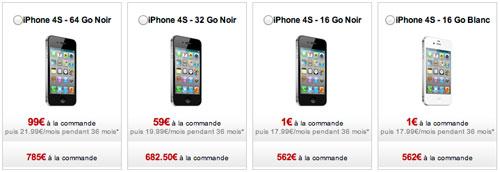 iphone free disponible iPh LiPhone 4S est enfin disponible chez Free Mobile !