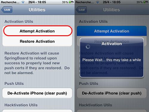 tuto sam 01 [TUTORIEL] Désimlocker un iPhone 4 et 4S très facilement [Méthode SAM]