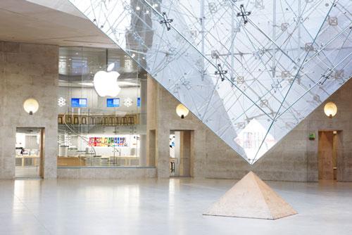 Apple Store carrousel du louvre Les iDistributeurs ne tiennent pas face aux Apple Stores