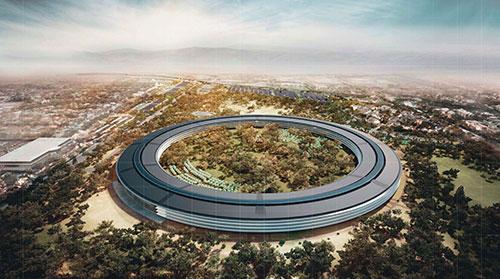 Apple campus 2 Le projet dApple «Campus 2» se précise [VIDEO]