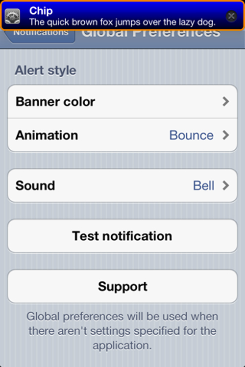 Chip Cydia Tweak iOS Cydia : Chip passe en version 1.1.1