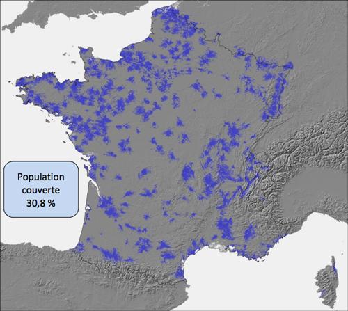 Couverture free mai 2012 Free mobile atteint le taux de couverture exigé par lArcep