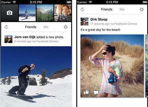 Facebook photo Appareil Photo Facebook est (enfin) disponible sur lApp Store