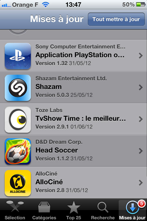 Photo 01 06 12 13 47 07 [CYDIA] Liste des tweaks compatibles iOS 5.1.1