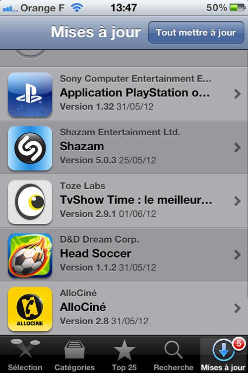 Photo 01 06 12 13 47 07 [CYDIA] Liste des tweaks compatibles iOS 5.1.1