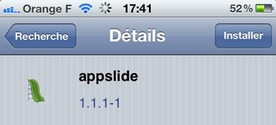app [CYDIA] Liste des tweaks compatibles iOS 5.1.1