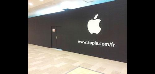apple store defense paris6 Nouvel Apple Store en construction à la défense Paris