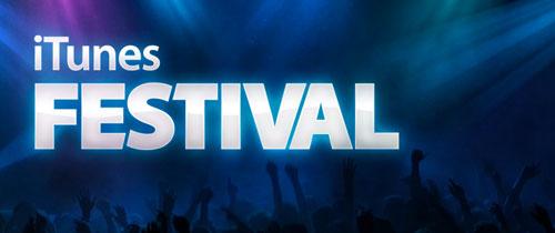 iTunes festival iTunes Festival : la programmation [MàJ]