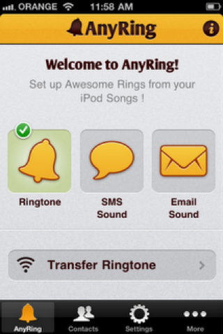 AnyRing 5.30 for iOS 5 [CYDIA] Liste des tweaks compatibles iOS 6