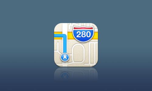 Plans 3D Maps icone ios 6 Comment activer les cartes 3D sur les anciens appareils ? [VIDEO]
