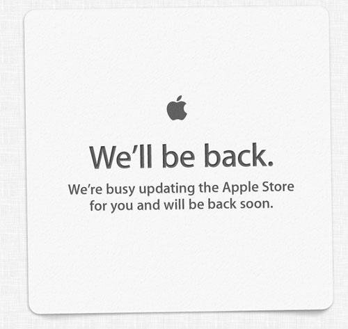 apple store ferme wwdc 2012 LApple Store en ligne vient de fermer ses portes