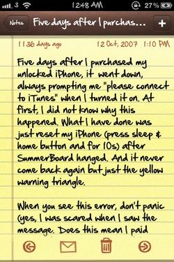 bytafont note [CYDIA] Liste des tweaks compatibles iOS 6
