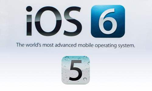iOS 6 logo - Analyse du nouveau logo iOS 6