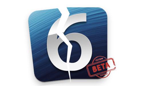 ios6 jailbreak beta test1 Comment jailbreaker liOS 6.1 bêta 4 en tethered