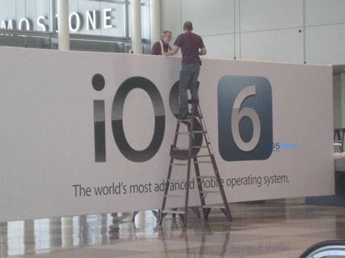 ios6 - iOS 6 déjà présent à la WWDC 2012