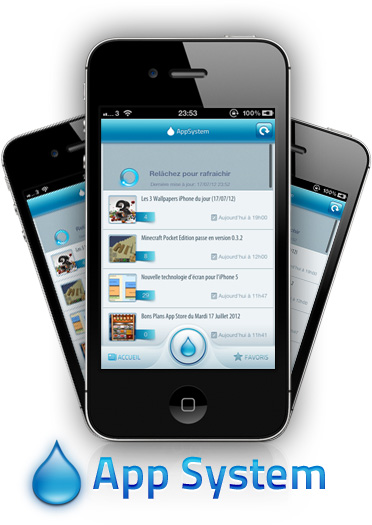 AppSystem Prez AppSystem lapplication du site iPhone3GSystem est disponible sur lApp Store